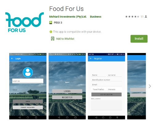 food for us mobile phone application transgressive learning